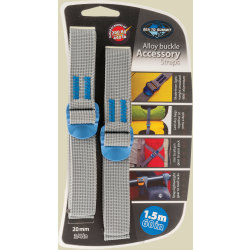 Sea to Summit Tie Down Accessory Strap Packriemen Breite 20 mm Länge 1 5 m