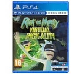 Rick and Morty Virtual Rick ality PS4 Game (PSVR Required)