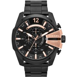 Chronograph Herren Chief black rosé