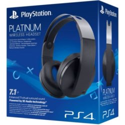 SONY Platinum Wireless Headset schwarz