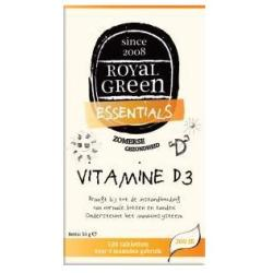 Vitamine D3 (120 Tabs) Royal Green