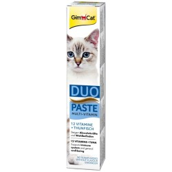 Vitamin Snacks GimCat Multi Vitamin Duo Paste Thunfisch 12 Vitamine