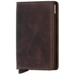 Secrid Brieftasche Slimwallet Vintage Chocolate