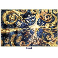Doctor Who Exploding Tardis Giant