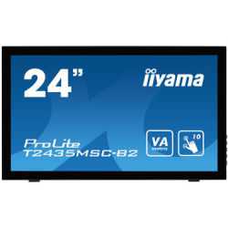 Iiyama ProLite T2435MSC B2 60 cm (23 6 Zoll) LED Multitouch Monitor VA Panel Webcam USB Hub HDMI