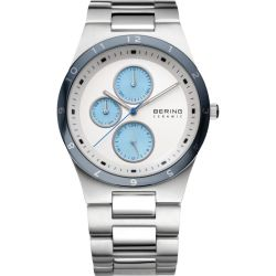 Bering Herrenuhr in Silber 32339 707