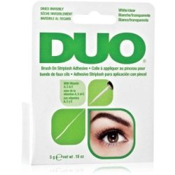 Ardell Duo Adhesive Brush On Striplash White clear Wimpernkleber no color