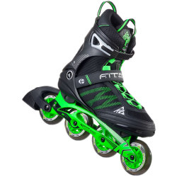K2 FIT Pro 84 M Inline Skates 30A0005 Black Green 2016