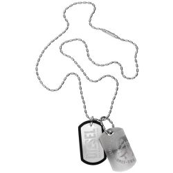 Diesel Dog Tag Herrenkette DX0011040