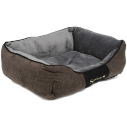 Scruffs Chester Box Bed Grafit (Grau) L
