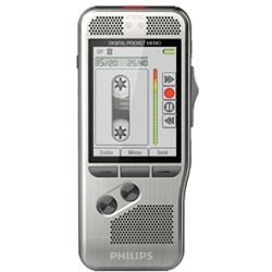 Philips Digital Pocket Memo DPM7200 silber DSS MP3