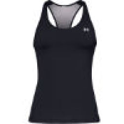 Under Armour Trainings Racer Tank Top black metallic silver XS