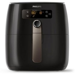 Philips Heissluftfritteuse HD9741 10 Airfryer Avance Collection 1500 W 800g für 2 3 Personen Fassungsvermögen 0 8 kg