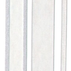 Band Satin Silber 1 5cm x 23 meter (1 Rolle) RIBSESIL