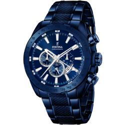 Festina F16887 1 Dual Time Chronograph 44mm 10ATM