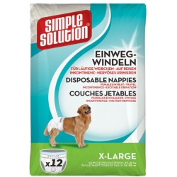 Toiletten Windeln und Kotbeutel Simple Solution Einwegwindeln X Large