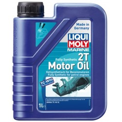 Liqui Moly Marine 2 Takt Motoröl Fully Synthetic 2T 1 l