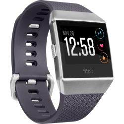 Fitbit Smart Watch Ionic blaugrau silbergrau
