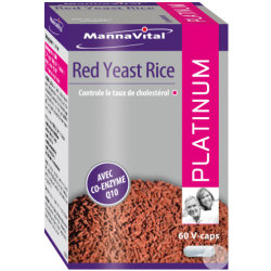 Mannavital Red Yeast Rice Platinium V caps 60