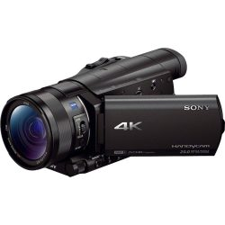 Sony »FDR AX100« Camcorder (4K Ultra HD NFC WLAN (Wi Fi) 12x opt. Zoom Golf Shot CinemaTone)