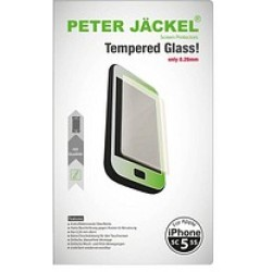 Peter Jäckel HD Glass Protector Display Schutzglas für Apple iPhone 5 5c 5s SE