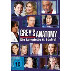 Grey's Anatomy Staffel 6 DVD