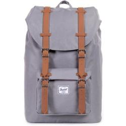 Herschel Little America Mid Volume Backpack 40.5 cm grey tan synthetic leather