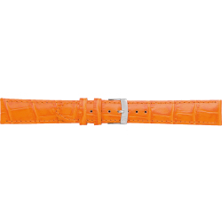 Morellato Uhrenarmband Samba X2704656086CR22 PMX086SAMBA22 Kroko leder Orange 22mm standardnähte