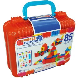 BRISTLE BLOCKS Spielbausteine »Bristle Blocks 85 Teile im Koffer« (85 St)