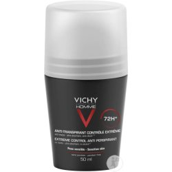 Vichy Homme Deodorant Anti Transpirant 72h Roll On 50 ml Stift