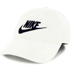 Nike Cap NSW Wash H86 White Black