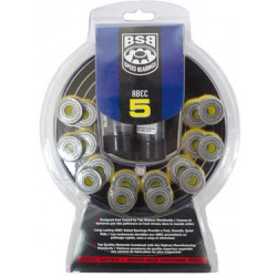 BSB 16er Pack Inline Kugellager ABEC 5 Speed Bearings für alle Marken