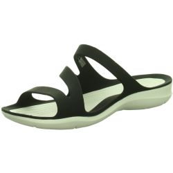 Crocs Swiftwater™ Sandalen Damen Black White 41