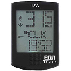 Messingschlager EON TOUCH 13W Fahrradcomputer