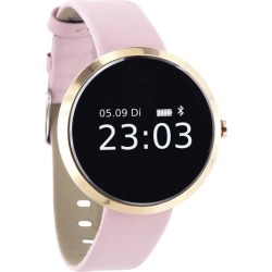 xlyne SIONA XW FIT Gold intelligente Uhr mit Band light rose einfarbig Bluetooth 38 g (54010)