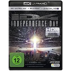 Independence Day ( 4K Ultra HD Bluray) Blu ray