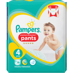 Pampers Windeln Premium Protection Pants GrӇe 4 Maxi
