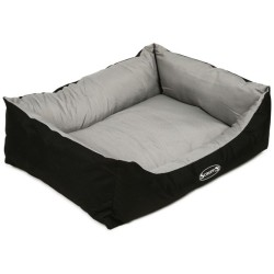 Scruffs Expedition Box Bed L 75 x 60 cm Grau