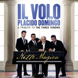 Plácido Domingo Il Volo Notte Magica A Tribute to Three Tenors (Live) CD