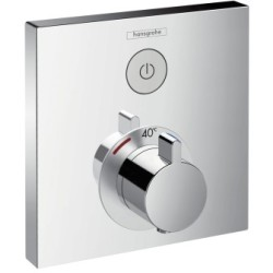 Thermostat »ShowerSelect« Breite 155 mm Kunststoff Metall